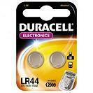 elem   gomb Duracell  LR44 1,5V A76,G13
